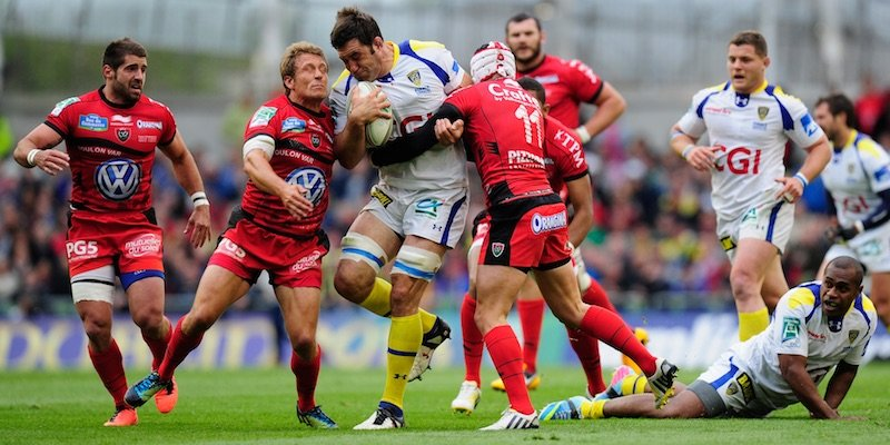 Cudmore in action for Clermont in the 2013 European Cup final vs Toulon. (Photo: Getty Images)