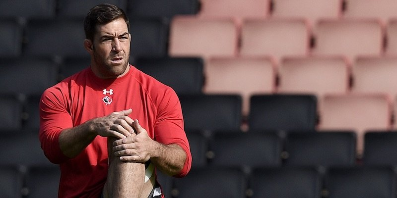 Jamie Cudmore at the 2015 Rugby World Cup. (Photo: Getty Images)