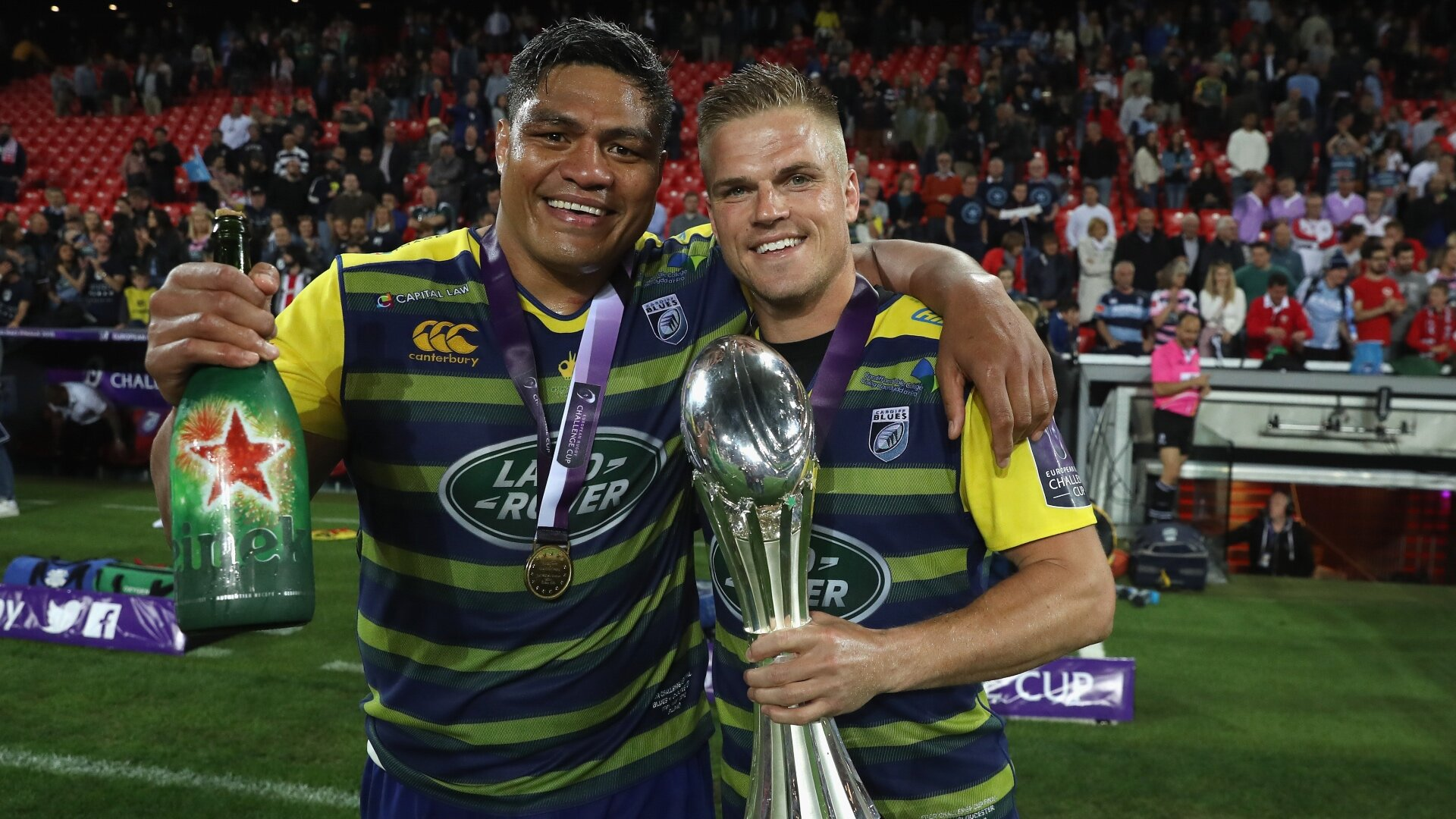 Nick Williams and Gareth Anscombe