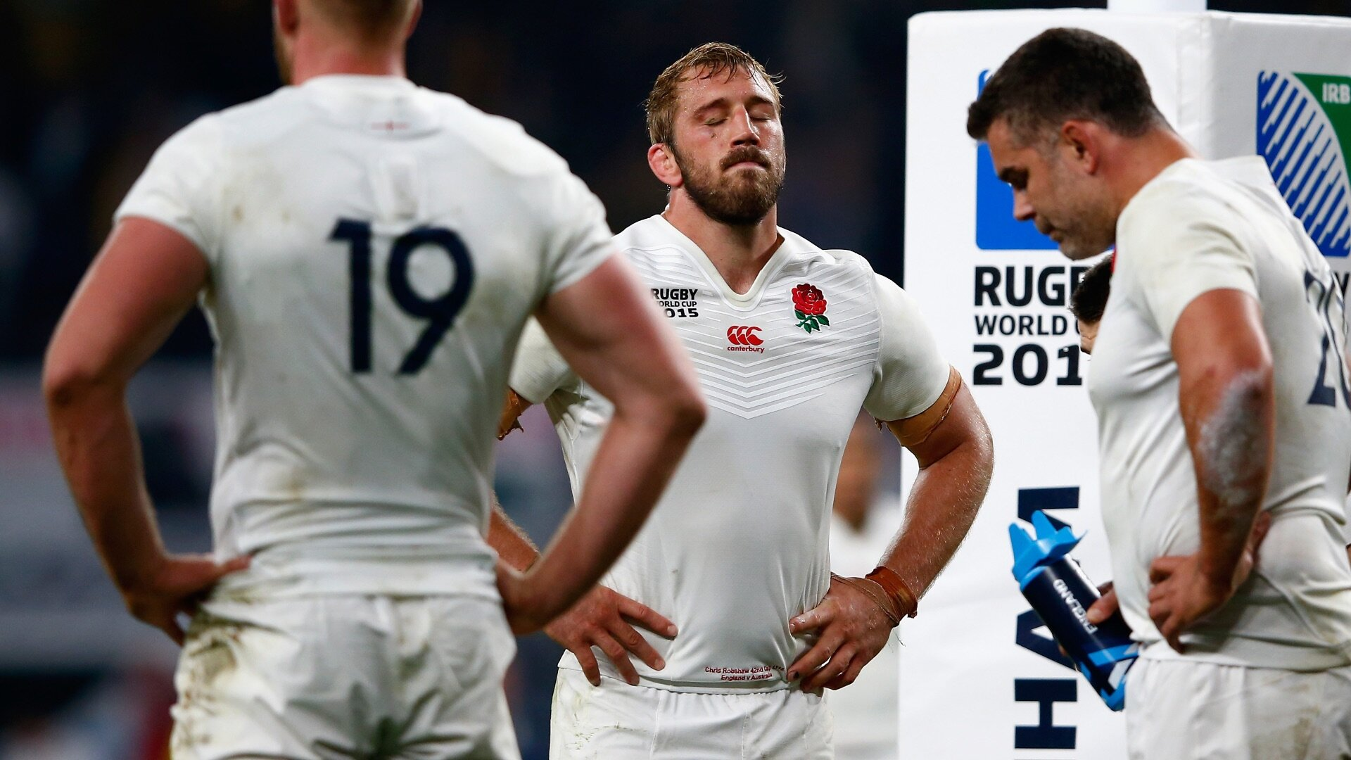Chris Robshaw dejection
