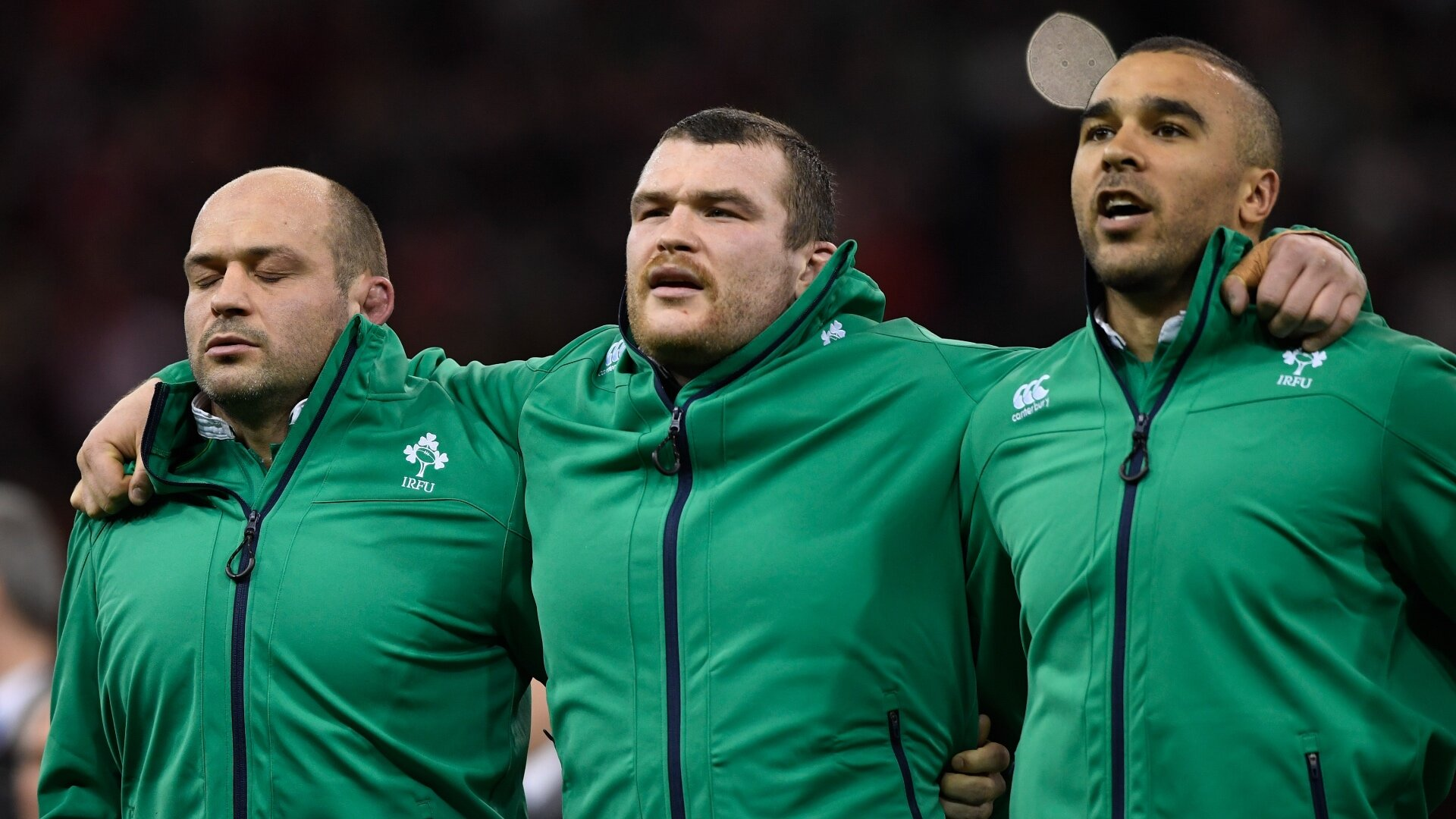 Rory Best not singing