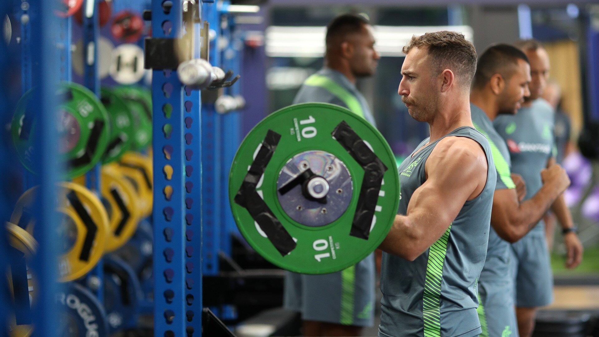 Nic White training