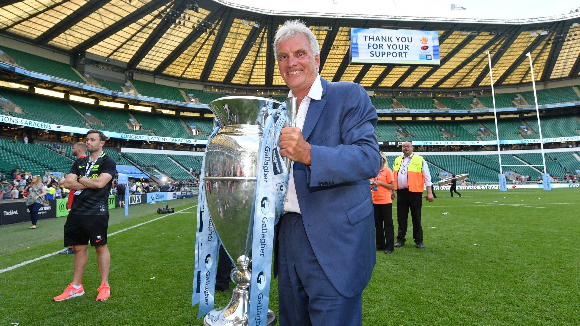 Nigel Wray celebrates