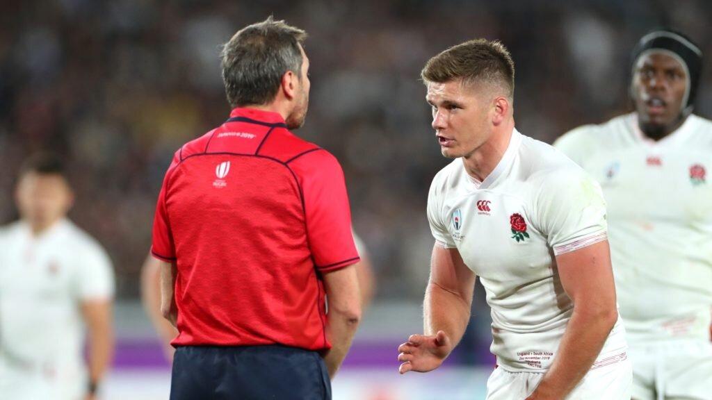 Farrell talks rugby law