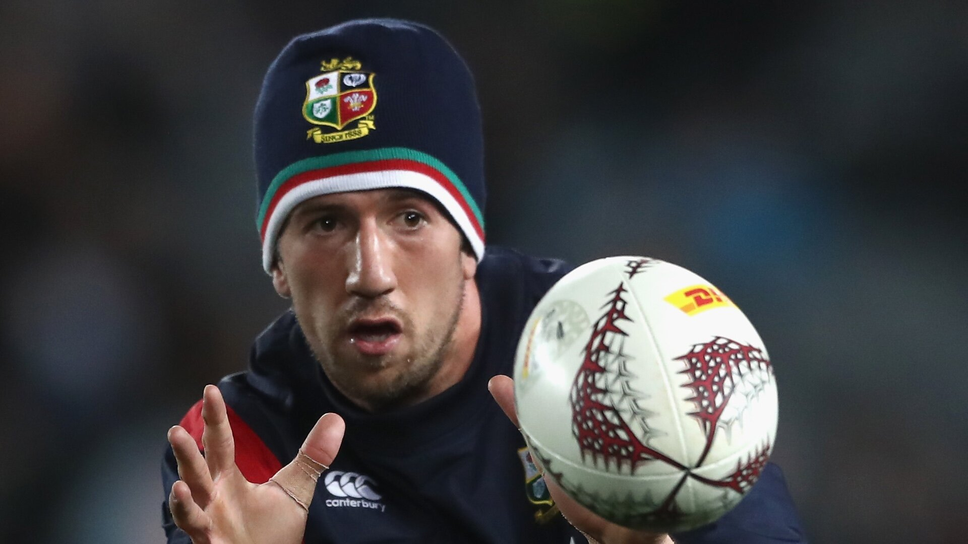Tipuric catches ball