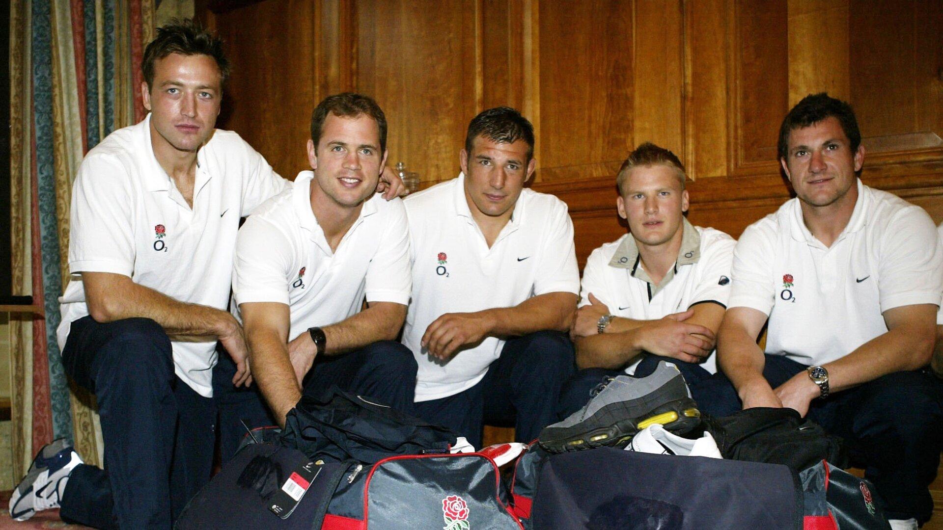 England RWC departure