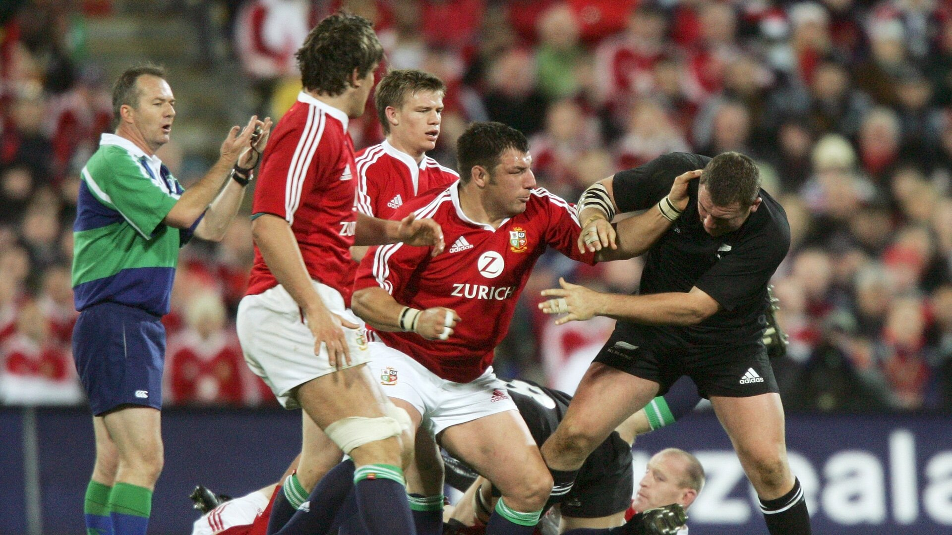 White rubbishes 2005 Lions
