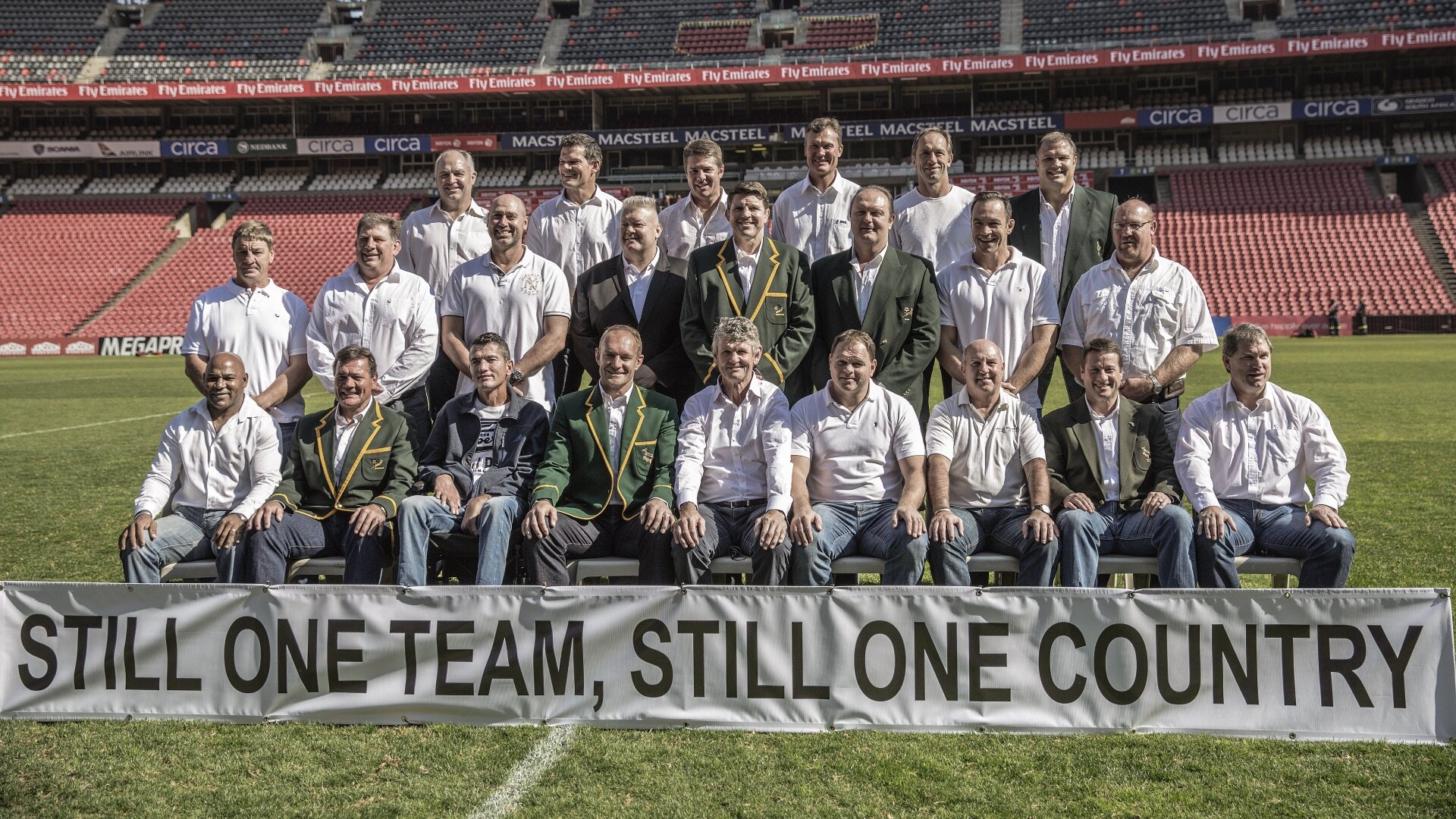 Springboks 20th anniversary reunion