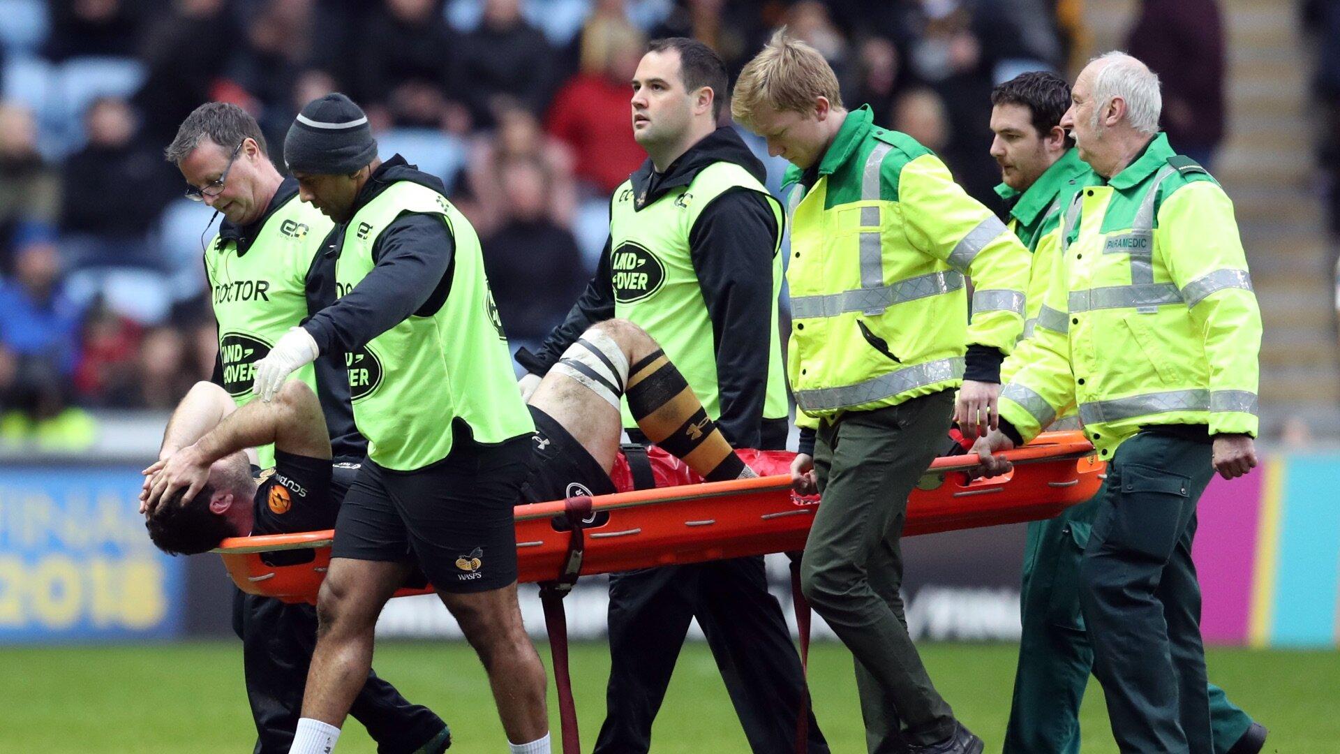 Rieder knee injury