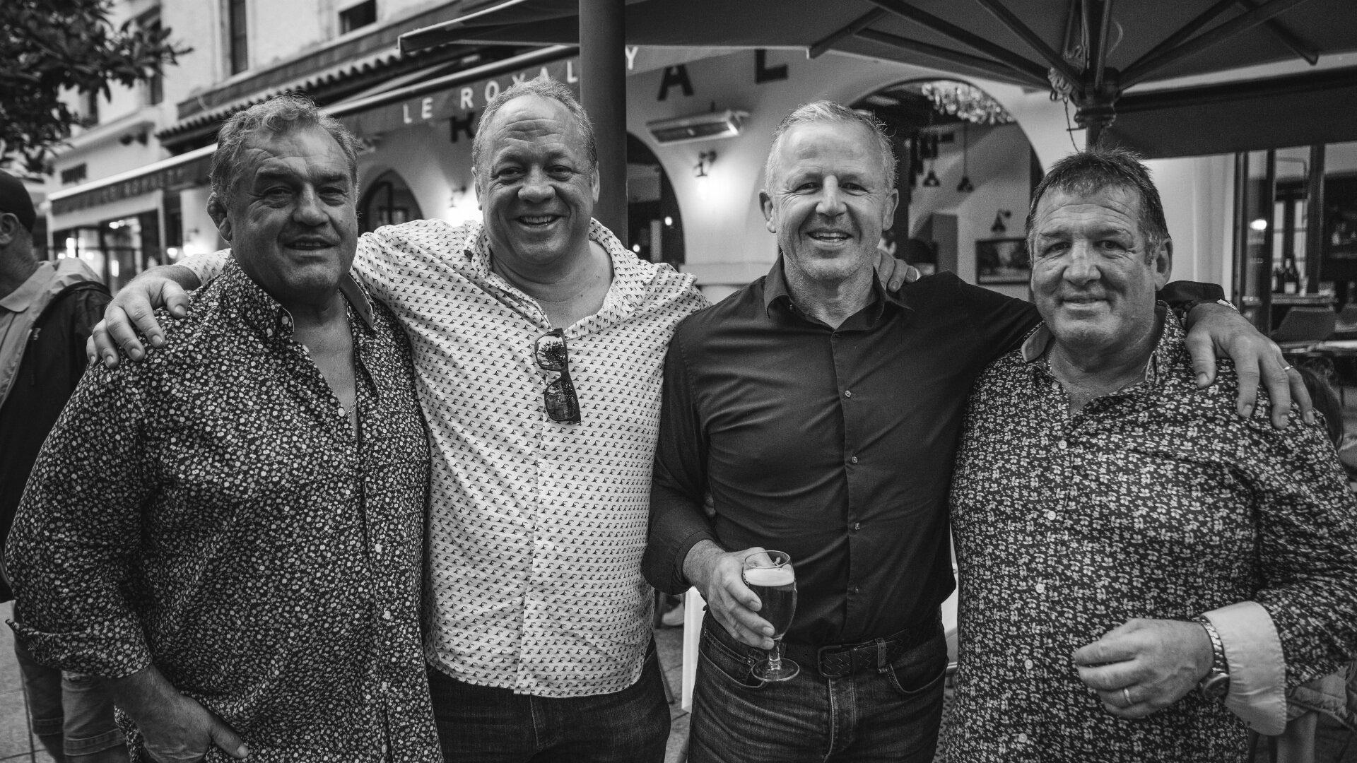Philippe Dintrans, David Beresford, Sean Fitzpatrick, Pascal Ondarts