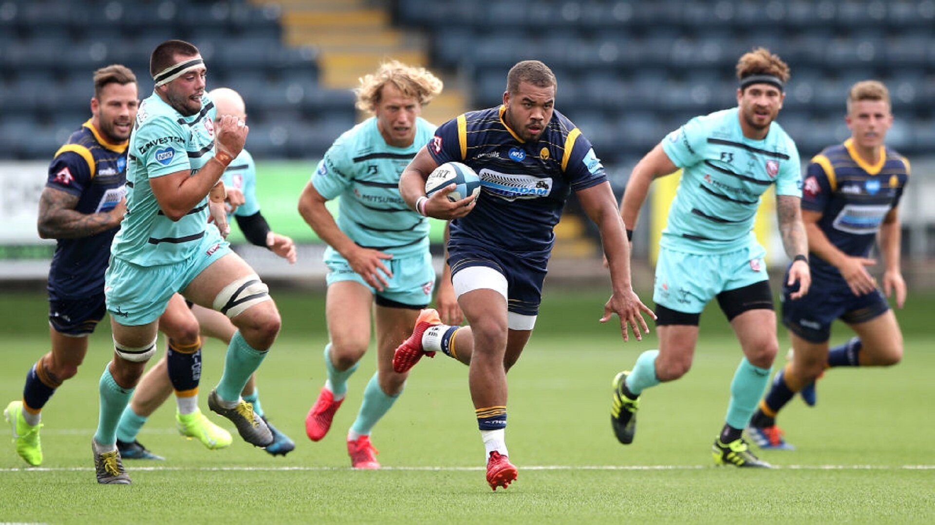 Worcester Warriors Ollie Lawrence