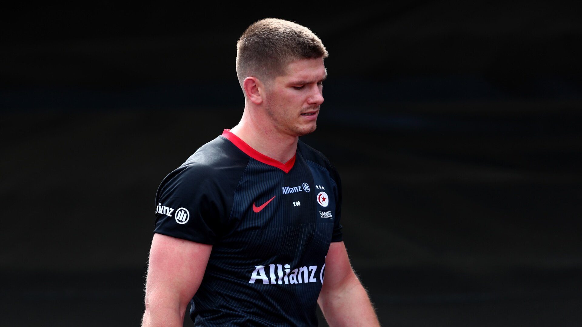 Farrell Saracens red card