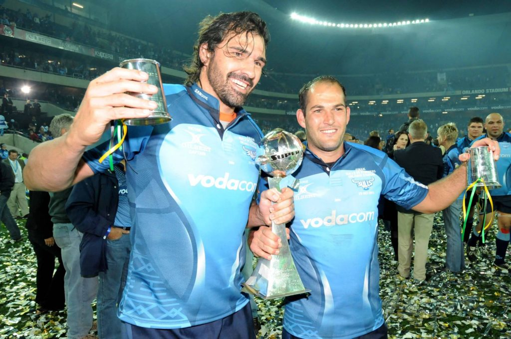 Victor Matfield and Fourie du Preez
