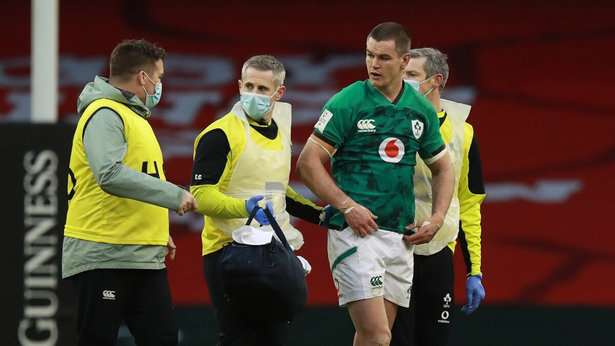 Sexton Ireland concussion
