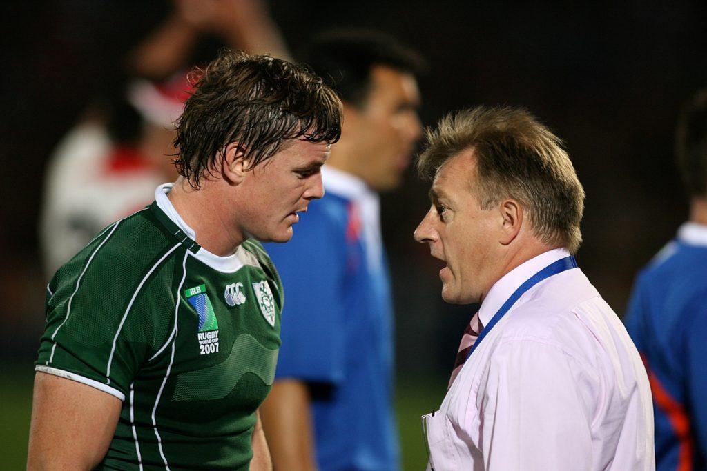 Brian O'Driscoll Eddie O'Sullivan