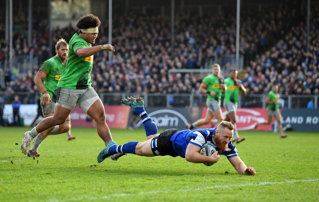 Bath Rugby v Harlequins - Gallagher Premiership Rugby