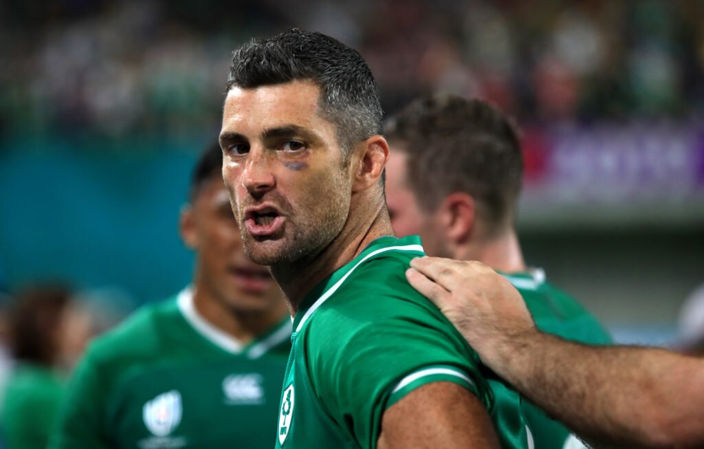 Ireland v Russia - Pool A - 2019 Rugby World Cup - Kobe Misaki Stadium