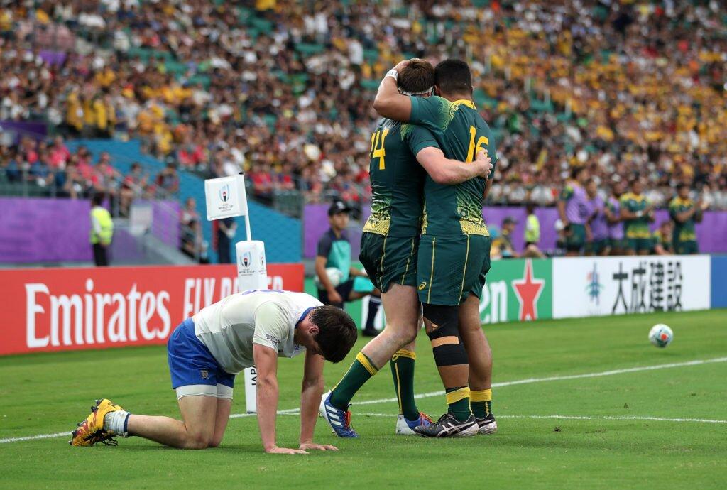Australia v Uruguay - Pool D - 2019 Rugby World Cup - Oita Stadium