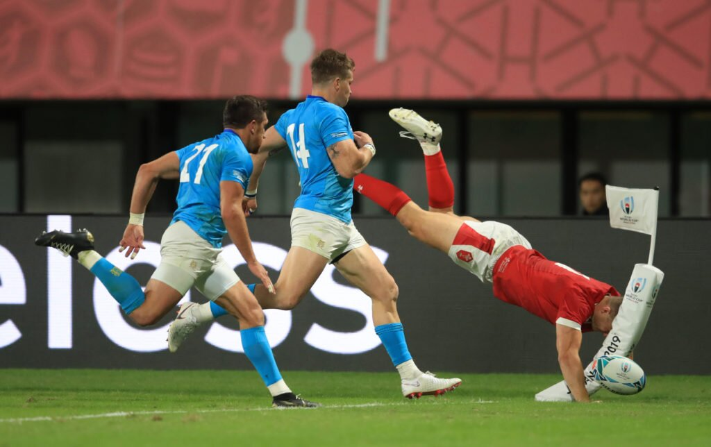 Wales v Uruguay - Pool D - 2019 Rugby World Cup - Kumamoto Stadium