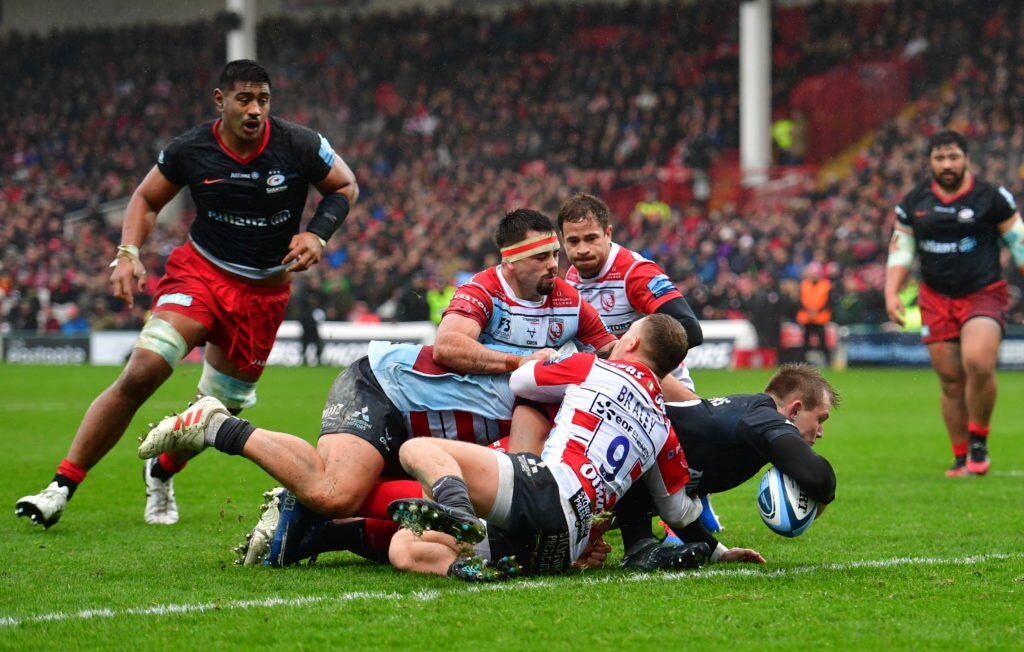 Gloucester v Saracens - Gallagher Premiership - Kingsholm Stadium