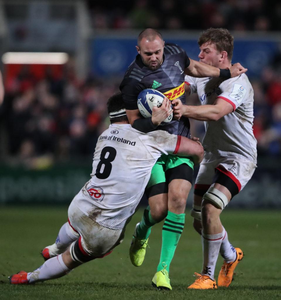 Ulster Rugby v Harlequins - Heineken European Champions Cup - Pool Three - Kingspan Stadium