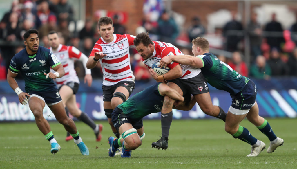 Gloucester Rugby v Connacht Rugby - Heineken European Champions Cup - Pool Five - Kingsholm Stadium