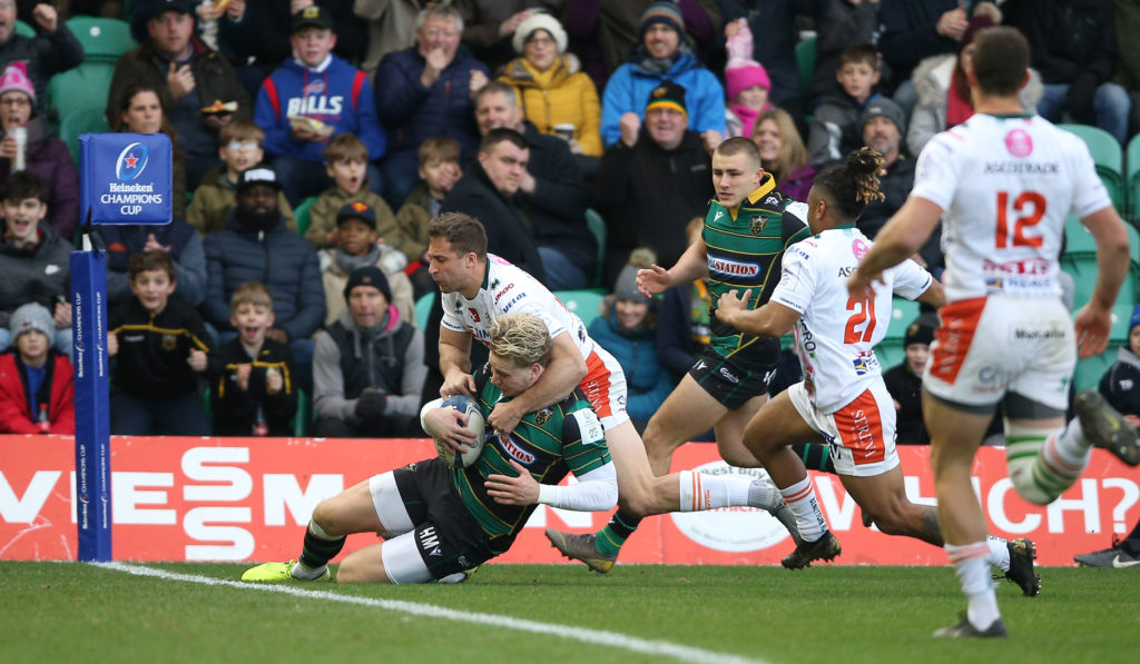 Northampton Saints v Benetton Rugby - Heineken Champions Cup - Pool One - Franklin's Gardens
