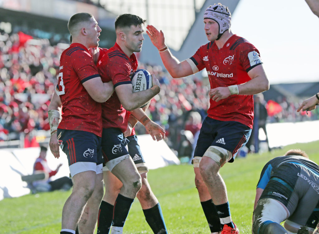 Munster Rugby v Ospreys - Heineken Champions Cup - Pool Four - Thomond Park