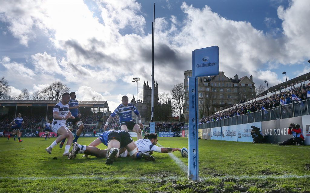 Bath v Bristol - Gallagher Premiership - Recreation Ground