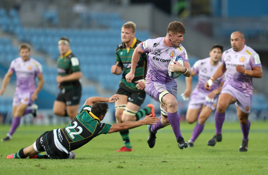 Exeter Chiefs v Northampton Saints - Heineken Champions Cup - Quarter Final - Sandy Park