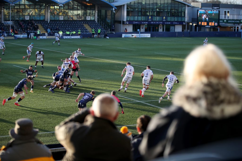 Worcester Warriors v Bath Rugby - Gallagher Premiership - Sixways Stadium