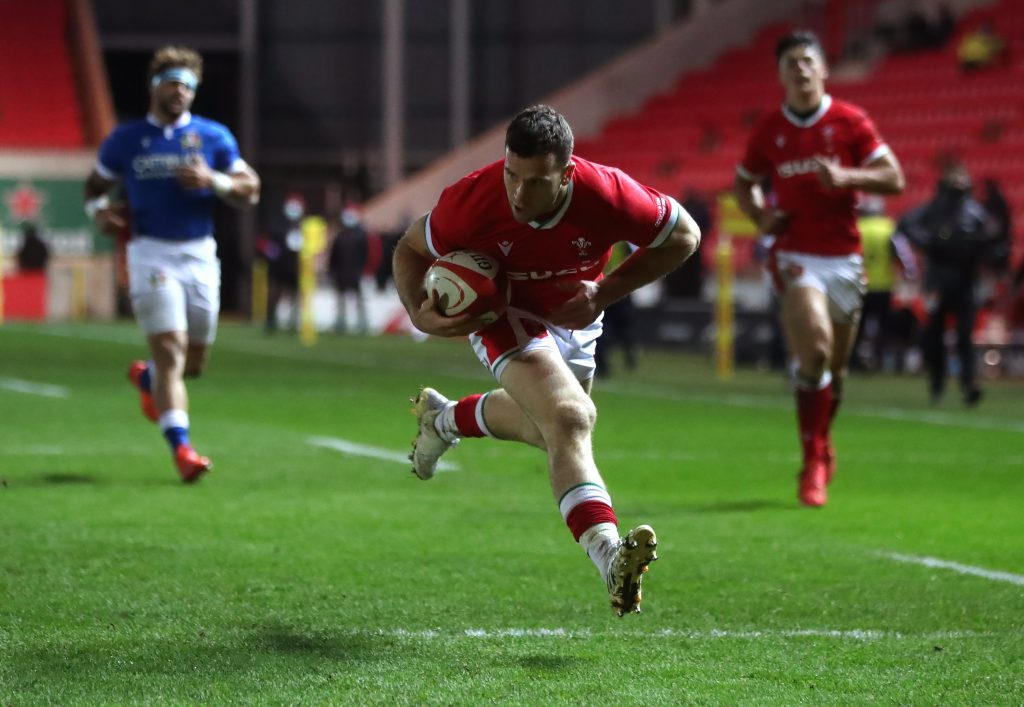 Wales v Italy - Autumn Nations Cup - Parc y Scarlets