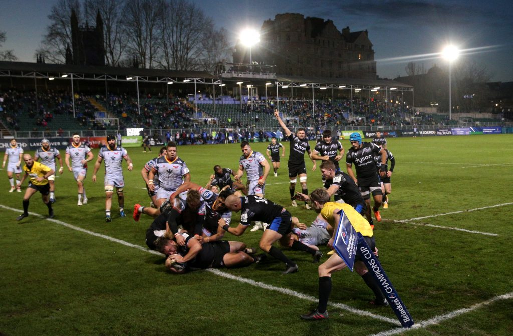 Bath Rugby v Scarlets - European Champions Cup - Pool A - Recreation Ground