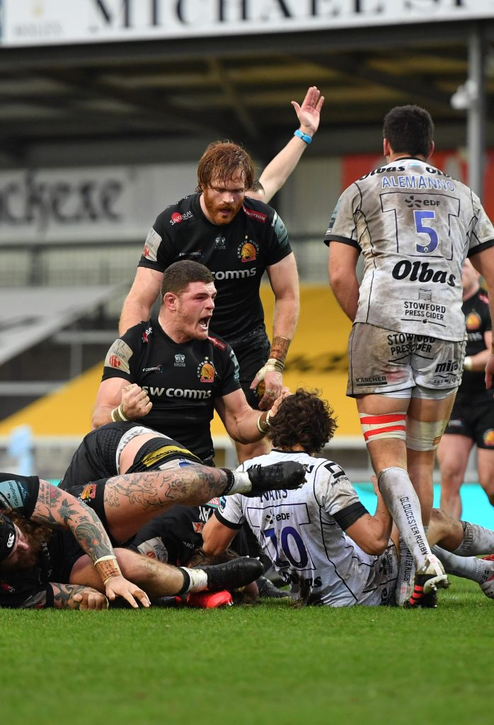 Exeter Chiefs v Gloucester Rugby - Gallagher Premiership - Sandy Park