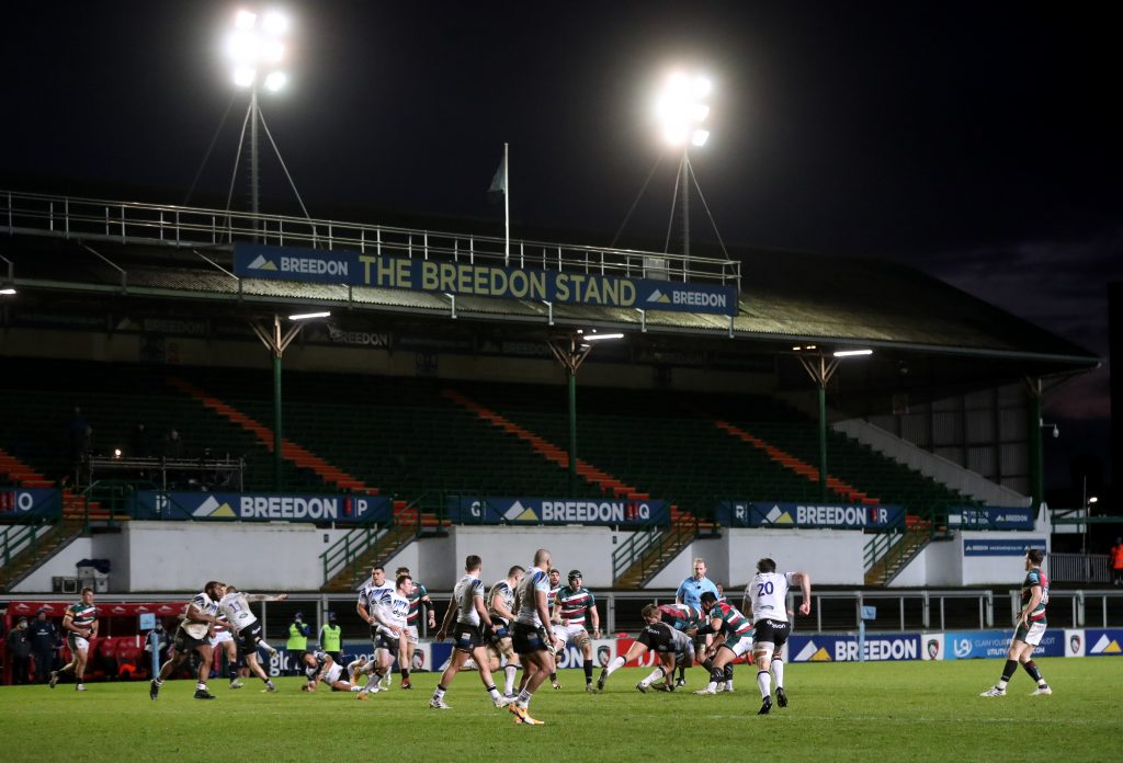 Leicester Tigers v Bath Rugby - Gallagher Premiership - Welford Road