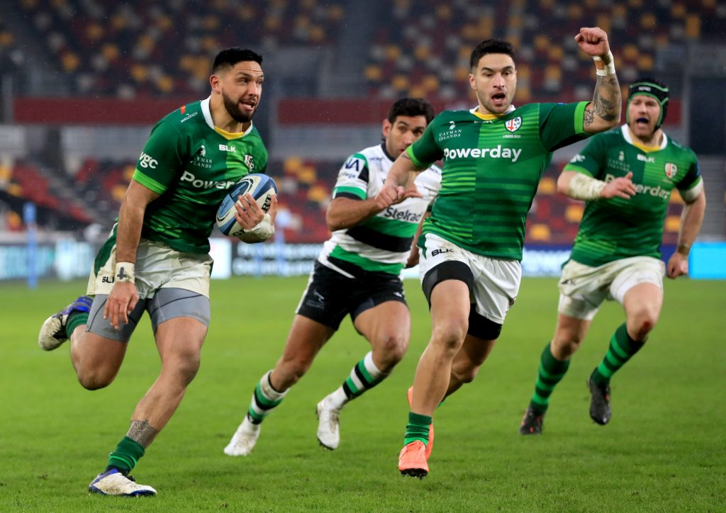 London Irish v Newcastle Falcons - Gallagher Premiership - Brentford Community Stadium