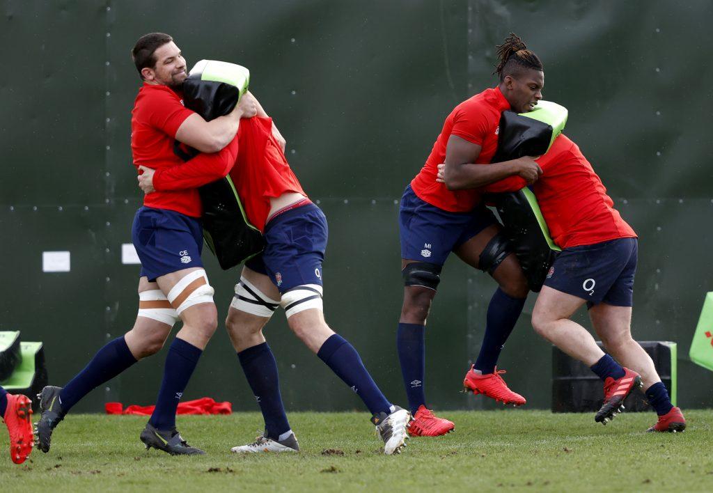England Training Session - Wednesday February 3, 2021 - The Lensbury Hotel