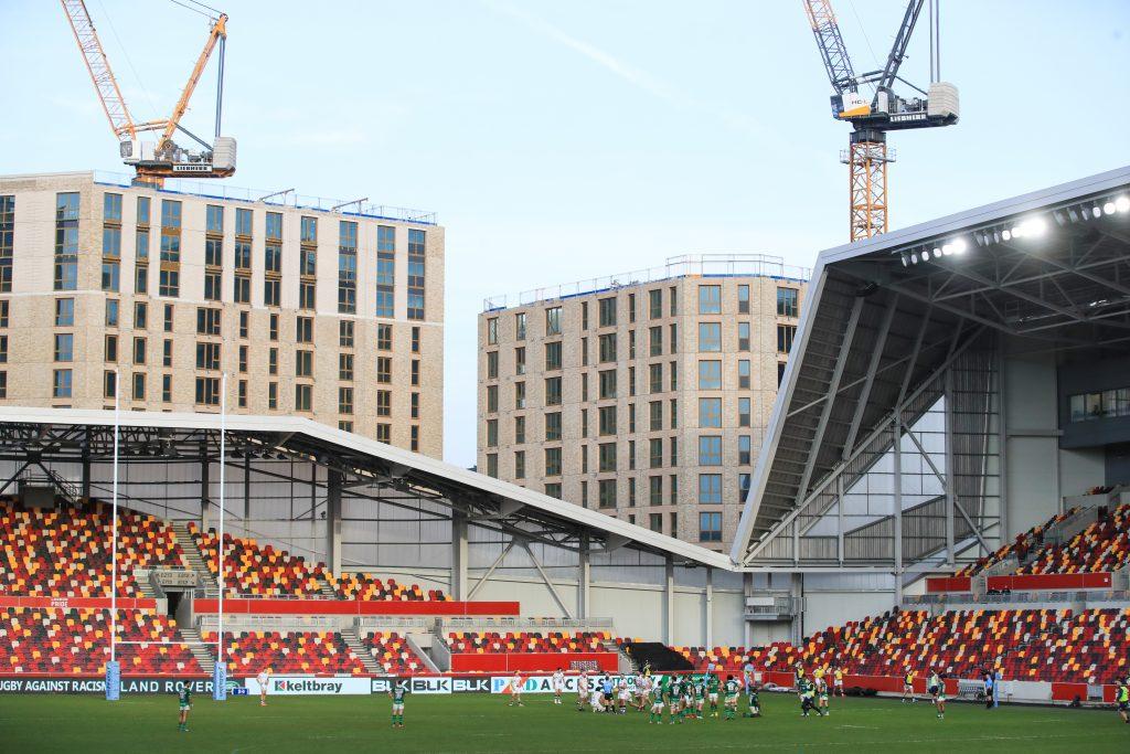 London Irish v Bristol Bears - Gallagher Premiership - Brentford Community Stadium