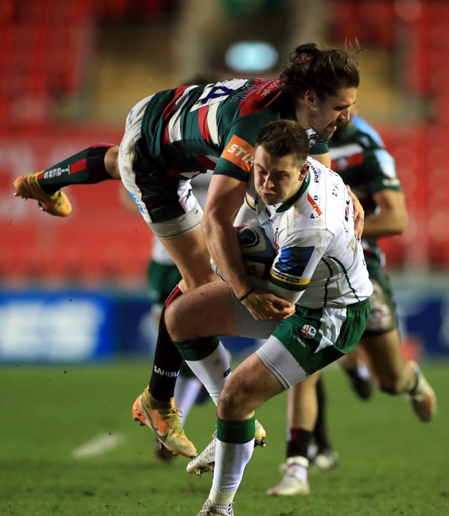 Leicester Tigers v London Irish - Gallagher Premiership - Welford Road Stadium