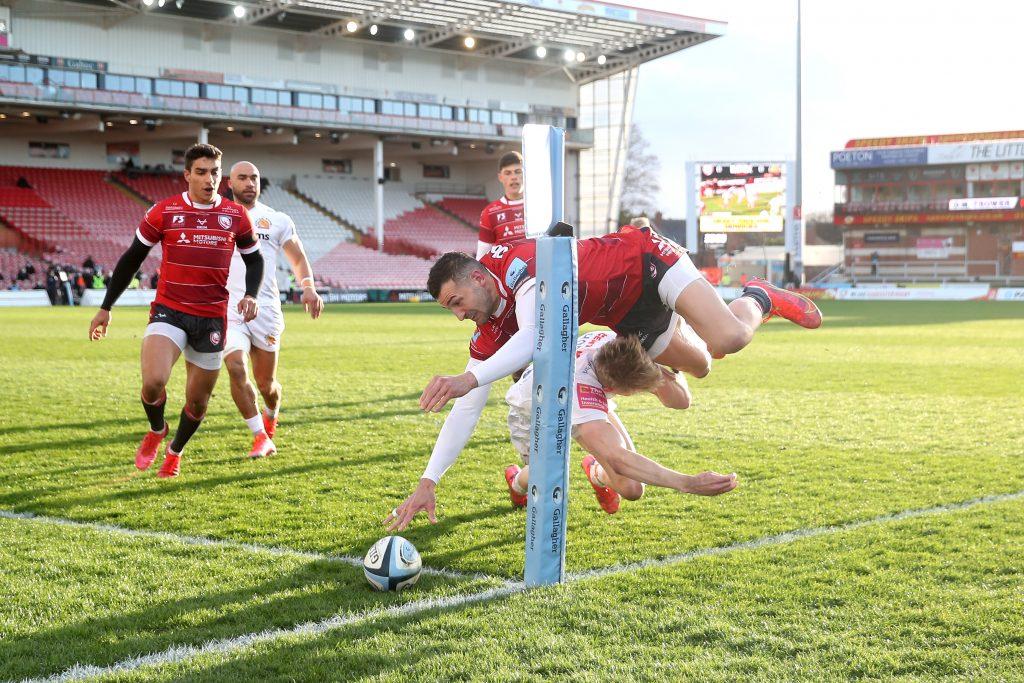 Gloucester v Exeter Chiefs - Gallagher Premiership - Kingsholm Stadium