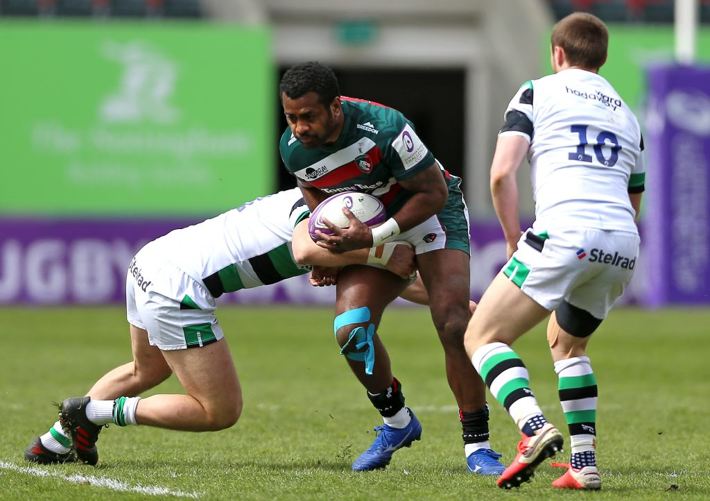 Leicester Tigers v Newcastle Falcons - Challenge Cup - Quarter Final - Welford Road