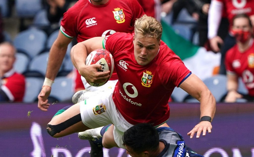 Lions Duhan van der Merwe